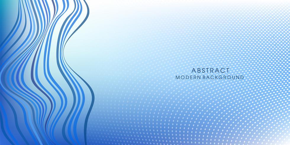Vector abstracto color azul liso
