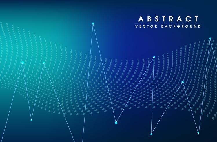 Vector illustration blue color background