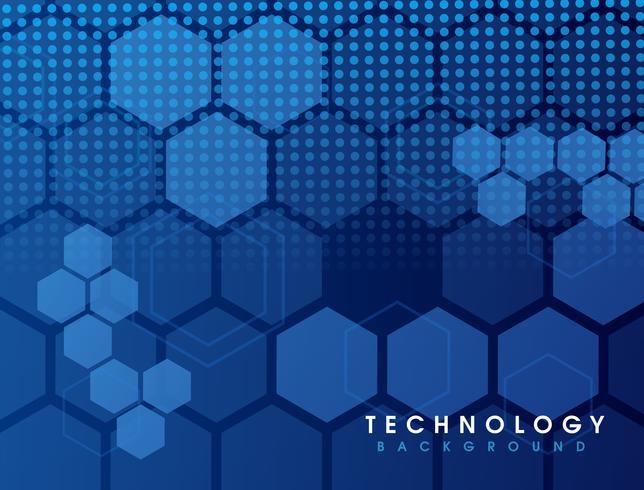 High speed. Hi-tech. Abstract technology background  vector