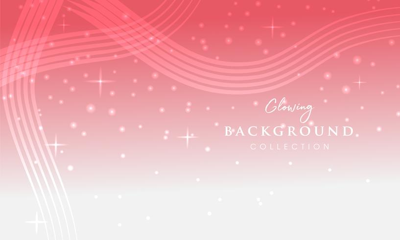 Abstract colorful bokeh light background vector