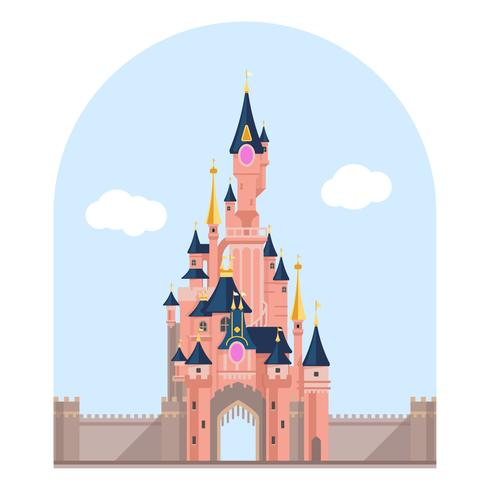 Ciudad del castillo misteriosa