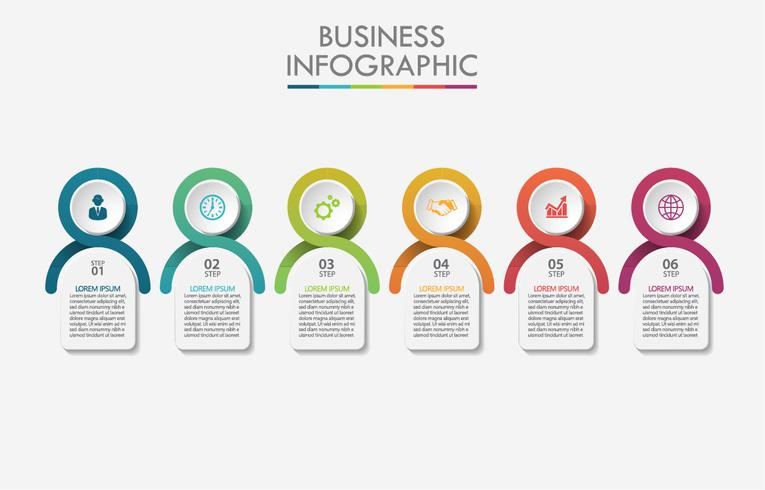 Infographic template. vector
