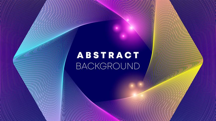 Shape abstract background vector