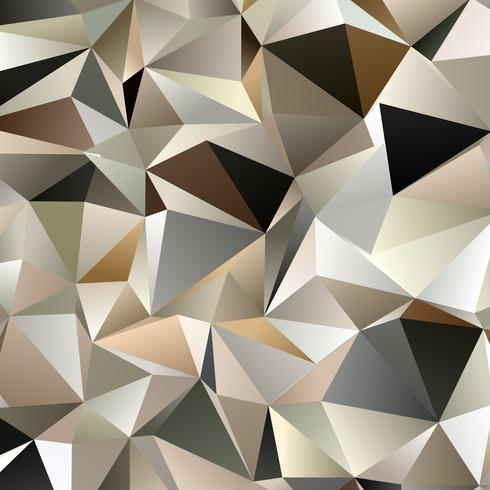 Abstract background with a low poly design  vector