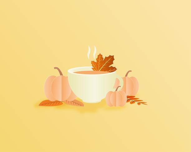 Autumn season illustration  vector