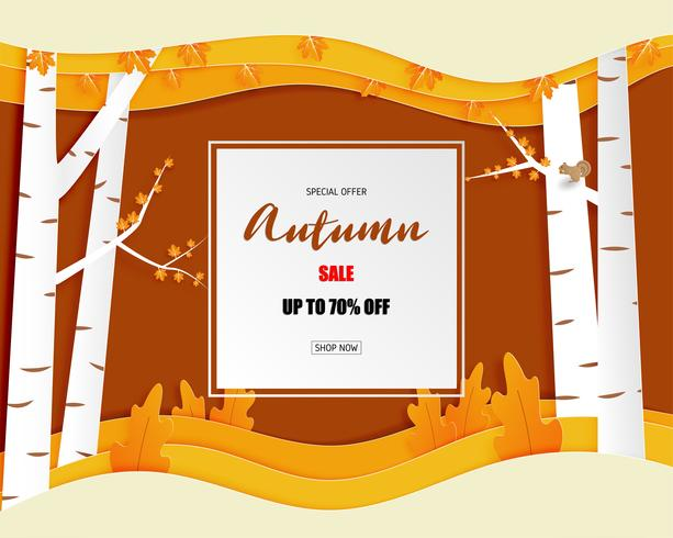 Autumn special sale offer