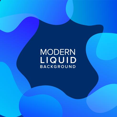 Liquid color background vector