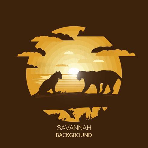 Afrikaans Savannelandschap