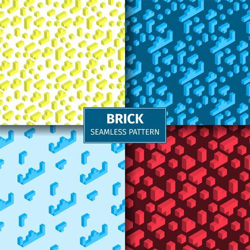 Playing Brick Pattern Set