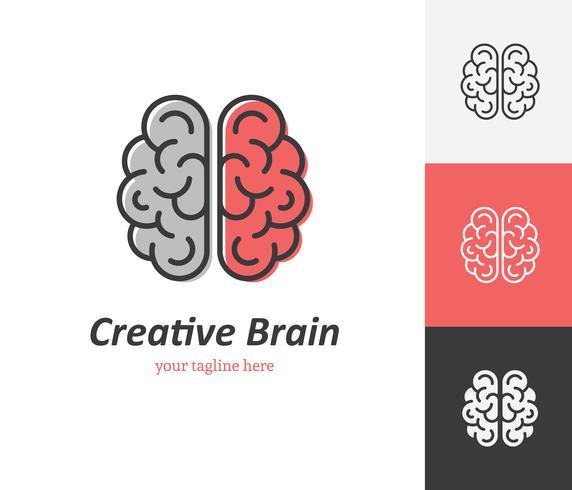 Ícone do cérebro criativo