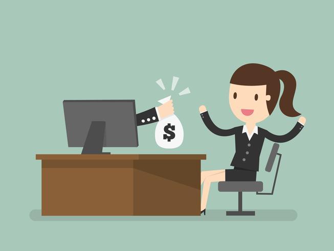 online business, making money online - Download Free Vectors ...