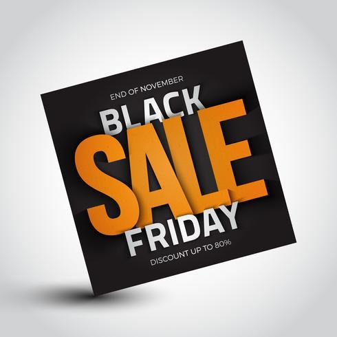 Black Friday-försäljning