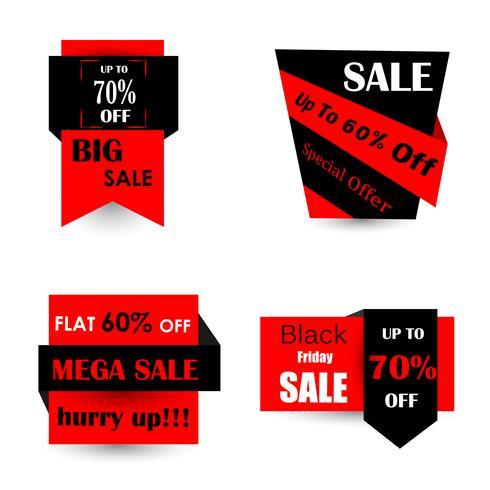 Black Friday Sale und Promotion Angebot Banner