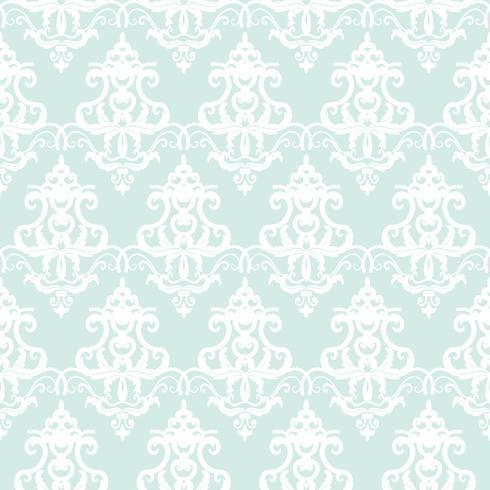 Achtergrond van het damast de naadloze pastelkleur blauwe patroon