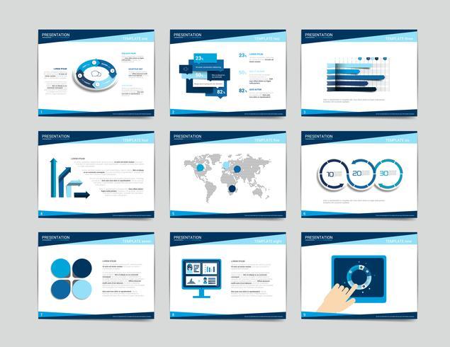 9 Präsentationsvorlagen für Unternehmen