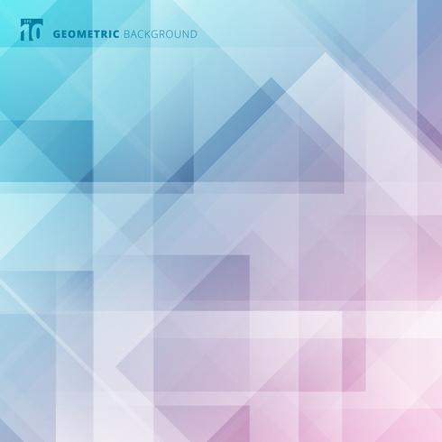 Geometric pastel digital futuristic design vector