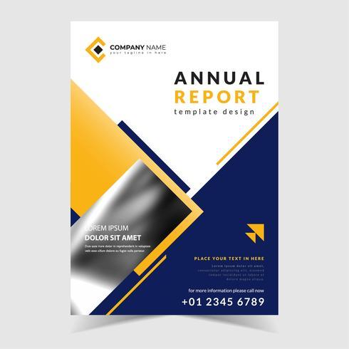 Relatório anual vetor