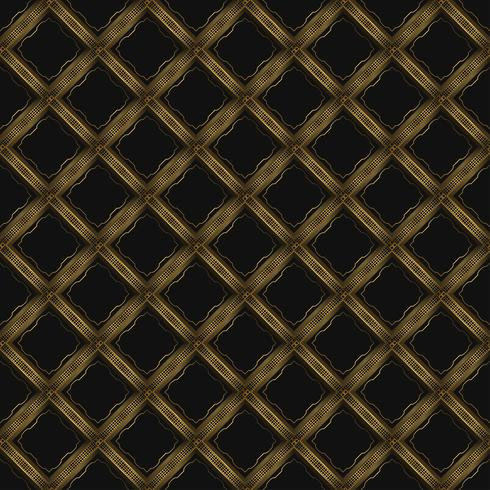 Luxury Background with Golden Geometric Pattern vector