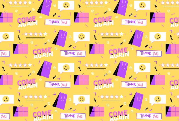 hand drawn sales promotion background vector