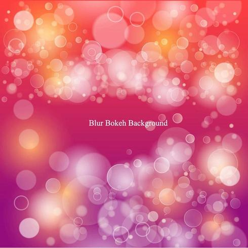 Colorful Gradient Bokeh Background vector