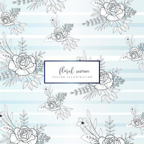 Light Floral pattern design