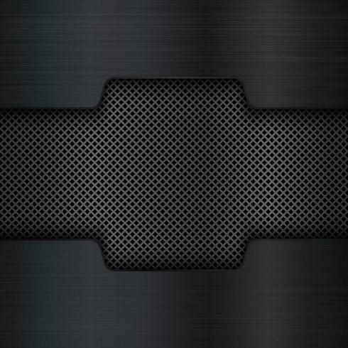 Fondo de textura de metal negro