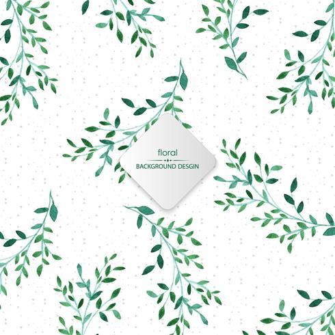 Sfondo acquerello verde