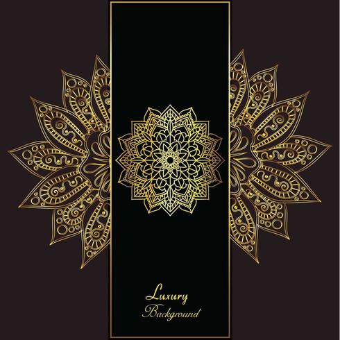 Gouden luxe elegante achtergrond
