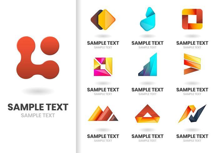 Formes vectorielles modernes