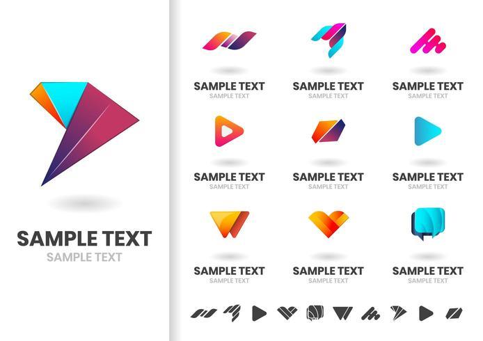 Modern Vector Shapes