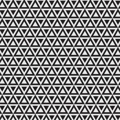 Modern Geometric Seamless Pattern with triangles