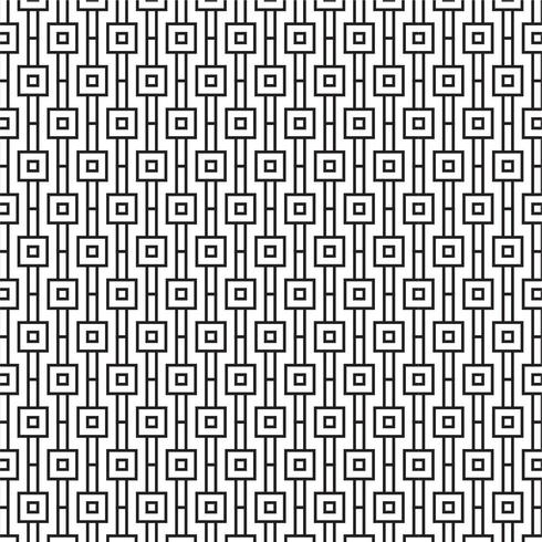 Modern Geometric Seamless Pattern with squares