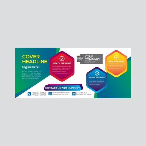Real Estate Colorful Business Banner Design