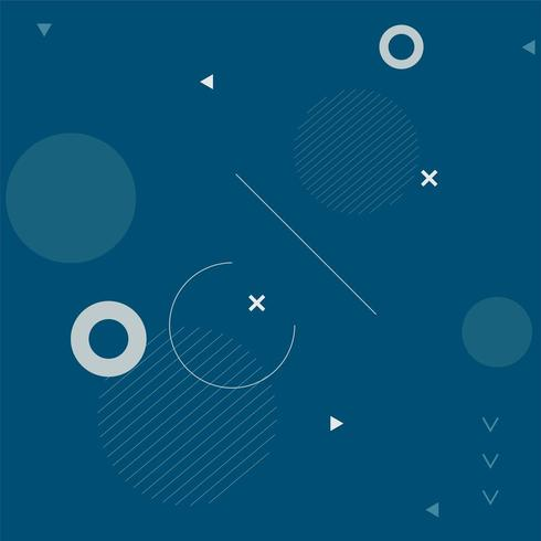 Fond bleu foncé d'un motif circulaire