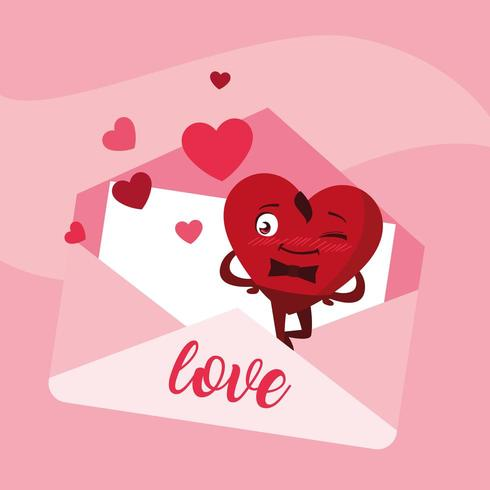 Love Note in Envelope