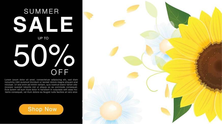 Summer Sale Discount Banner