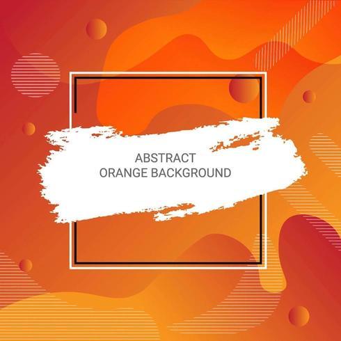 Fond abstrait formes dégradé orange