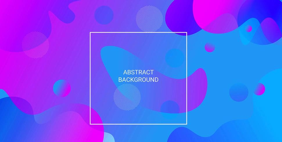 Blue Purple Abstract Gradient Background