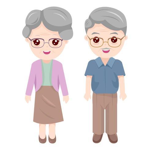 Grandma and Grandpa couple