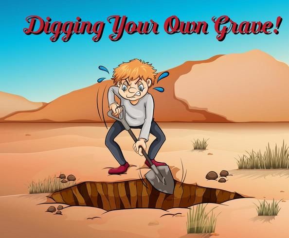 119 Digging Grave Illustrations, Royalty-Free Vector Graphics & Clip Art -  iStock
