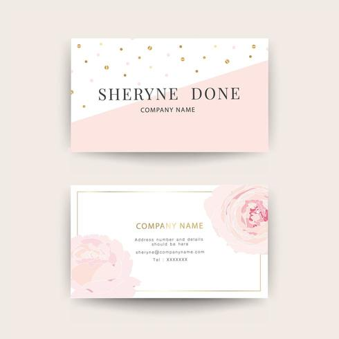 Business cards for women