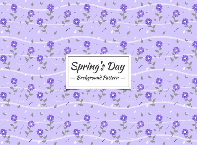 Spring Seamless pattern background