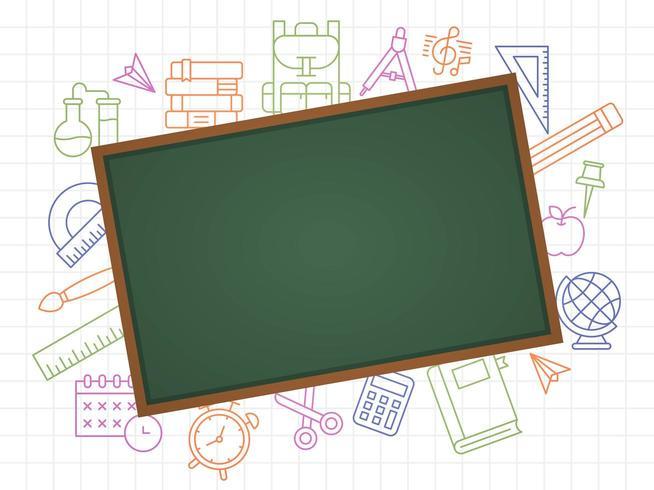 Blackboard School Template