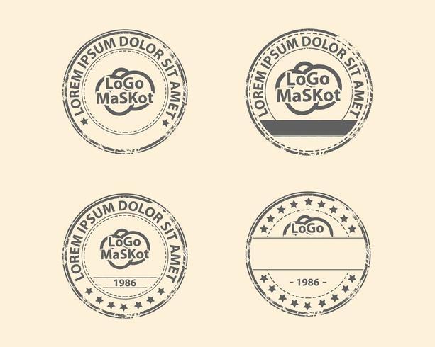 Colección de etiquetas y sellos