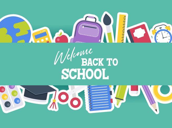 Bem-vindo de volta à escola