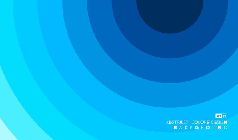 Abat-jour blanc et bleu abstrait recouvre la conception de la couverture