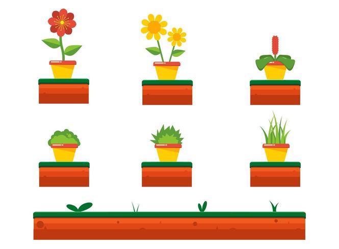 Ensemble de printemps fleur