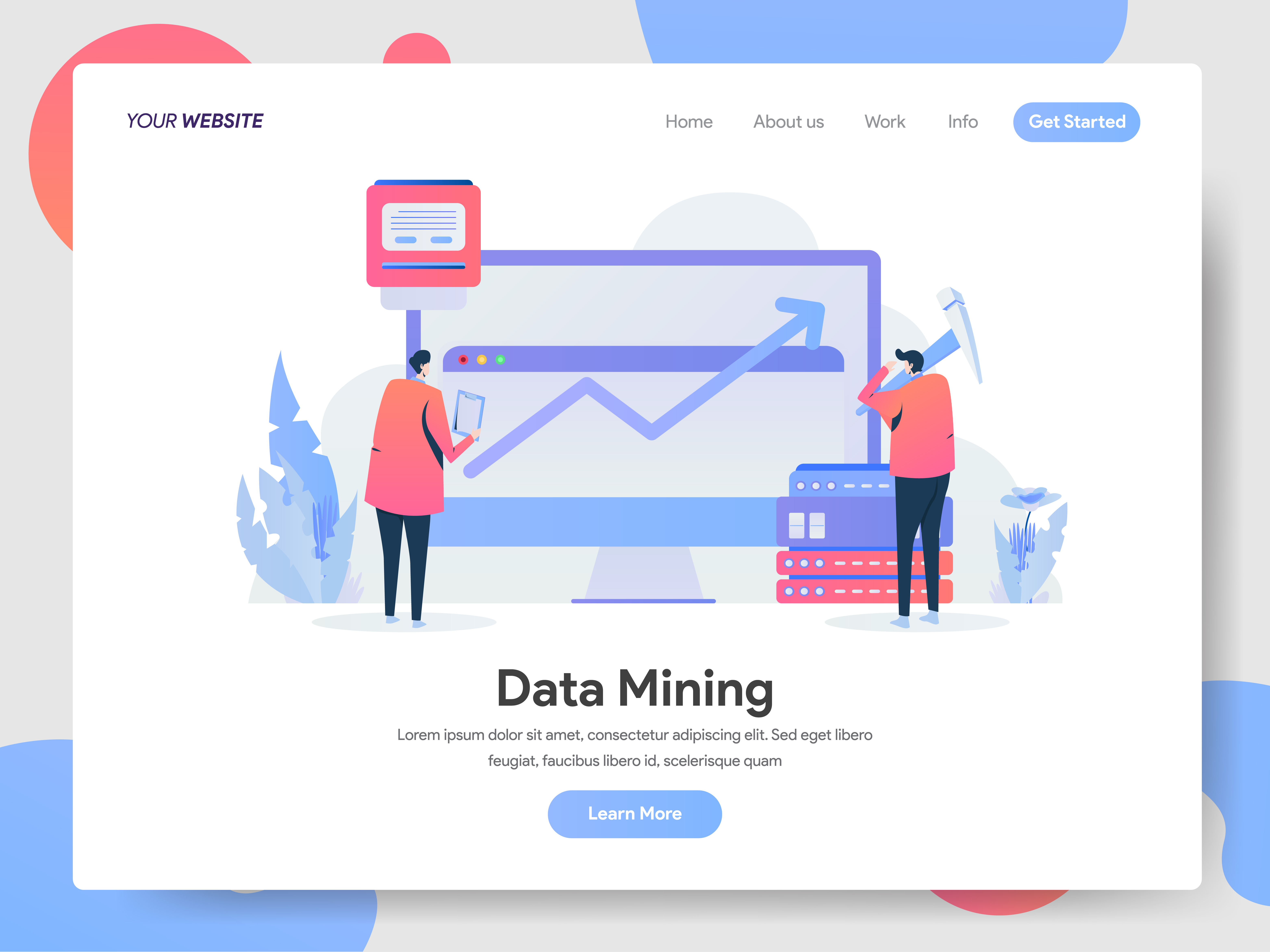 mining cryptocurrency illustrated