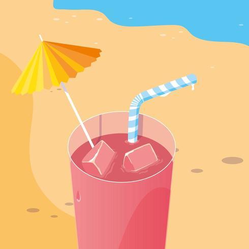 drinken op het strand