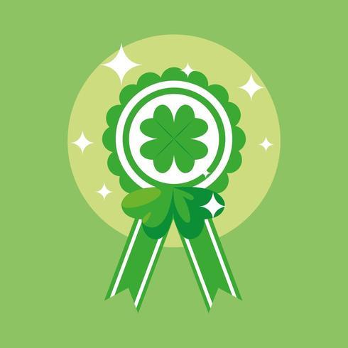 St Patrick-dagen och medaljklöver